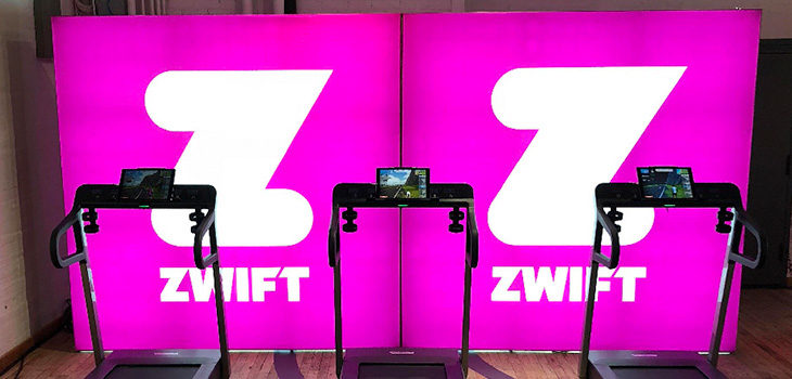 Zwift – 7.5′ X 7.5′ Lumiere Light Wall Displays