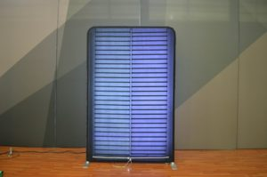 5ft wide WaveLight Backlit Wall