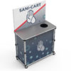 PopUp Sanitation Cart Counter G